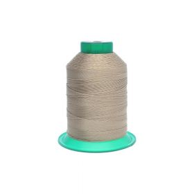 Thread / 100% polyester / 0.6mm / beige / 500m