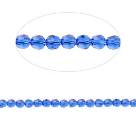 5000 Swarovski Crystal Faceted Rounds 3mm Majestic Blue Pk12
