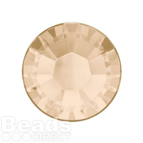 2078 Swarovski Crystal Hotfix Round 7mm SS34 Light Silk A HF Pk144