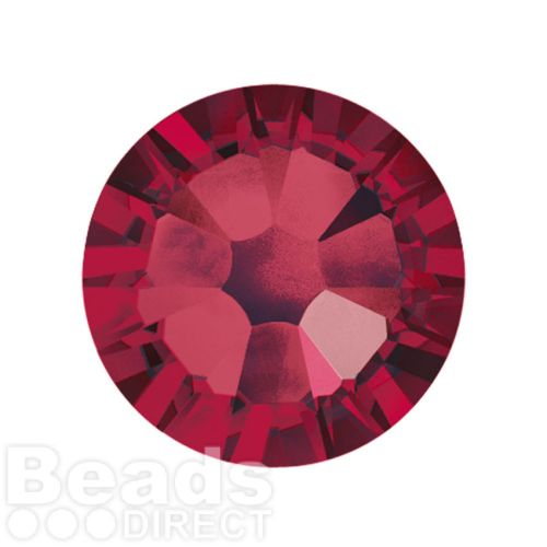 2088 Swarovski Crystal Flat Backs Non HF 7mm SS34 Ruby F Pk144