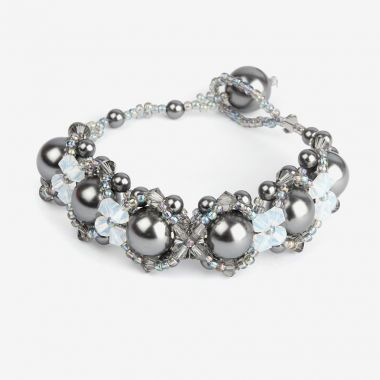 Crystal Hugs & Kisses Bracelet