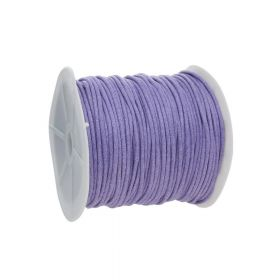 Waxed cord / lavender cord / 2.0mm / 72m