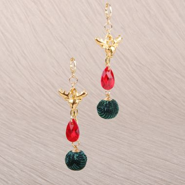 Rudolph Earrings