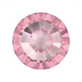 2078 Swarovski Crystal Hotfix Round 7mm SS34 Light Rose A HF Pk144
