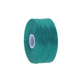 BEADSMITH ™ / thread S-LON D / nylon / Tex 45 / Aquamarine / 70m
