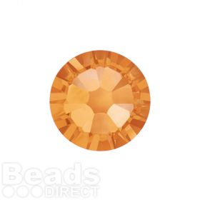 2088 Swarovski Crystal Flat Backs Non HF 4mm SS16 Topaz F Pk1440