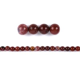 Portugal Agate Round Semi Precious Beads 8mm Pk20