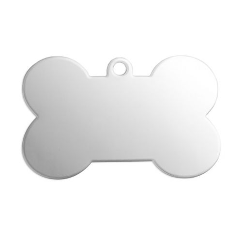 ImpressArt Aluminium Dog Bone Tag 20gauge 27x40mm Pk1