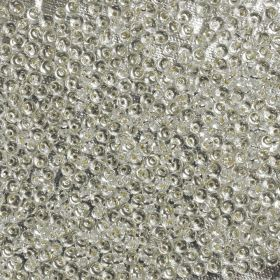 Toho Seed Beads 3mm Magatama Silver Lined Crystal 10g
