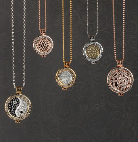 Lucy Interchangeable Locket Necklace