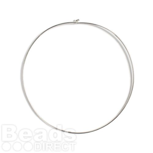 Silver Plated Choker with Hook Pk1