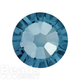 2088 Swarovski Crystal Flat Backs Non HF 7mm SS34 Denim Blue F Pk144