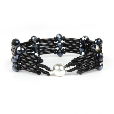 Midnight Delight Crystal Step Bracelet