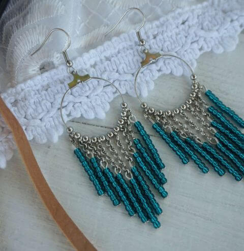 How to make Beaded Toho earrings - 3 easy to follow designs