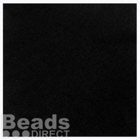 "Black Felt Square Beading Foundation 9""x9"" For Soutache Pk1"