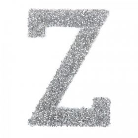 Swarovski Crystal Letter 'Z' Self-Adhesive Fabric-It Transparent CAL Pk1