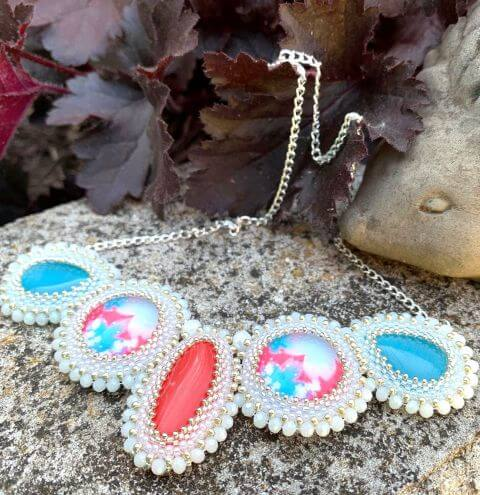 Multi Cabochon Necklace - Jewellery Making Tutorial