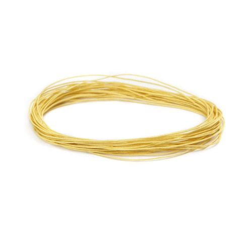 Satin Cord 0.5mm Yellow 5m