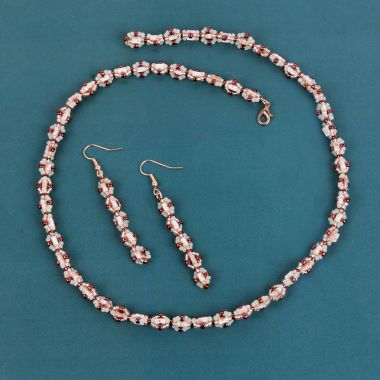 Copper Glow Jewellery Set