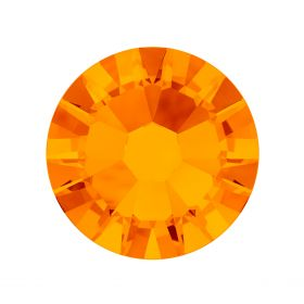 2088 Swarovski Crystal Flat Backs Non HF 7mm SS34 Tangerine F Pk144