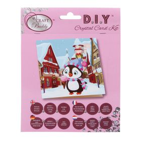 Craft Buddy 'Ice Cream at the Markets' Crystal Card Kit