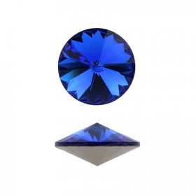 1122 Swarovski Crystal Rivoli 12mm Majestic Blue F Pk1