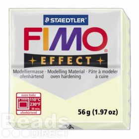 Staedtler Fimo Effect Polymer Clay Nightglow 56g (1.97oz)