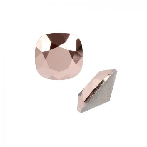 4470 Swarovski Crystal Square Fancy Stone 10mm Rose Gold F Pk1