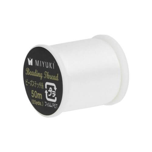 Miyuki™ / nylon thread / 330dtex / colour 2 - off white  / 50m