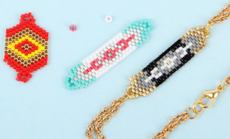 Instant Peyote Bracelets | Mini-Make Monday