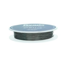 Hematite Colour Copper Craft Wire 28 Gauge (0.3mm) 20metre Reel