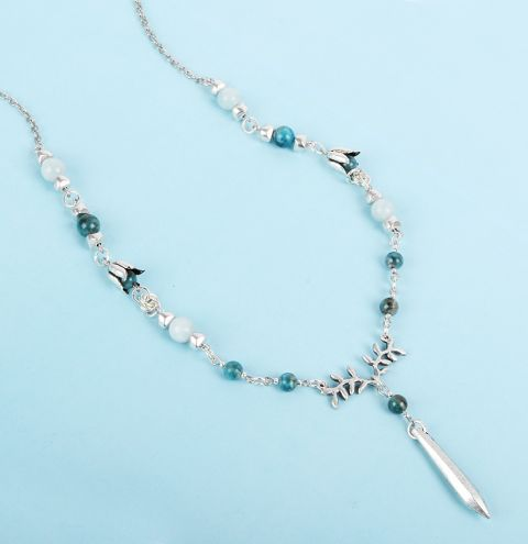 Winter Waterfall Necklace