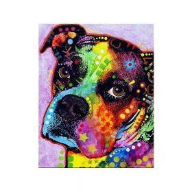 Diamond painting / mosaic / dog / 30x40cm / 1pcs