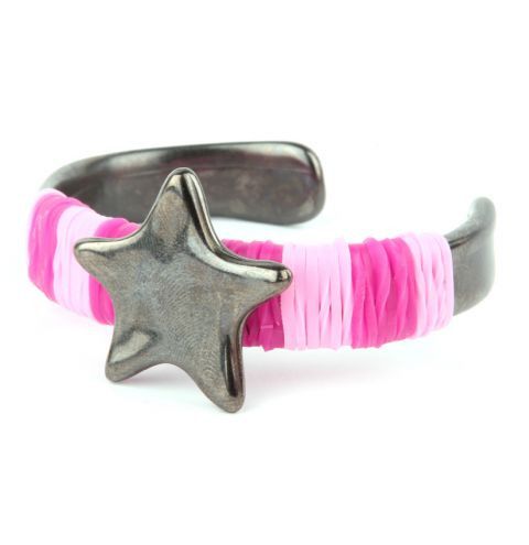 Gunmetal Star Bangle