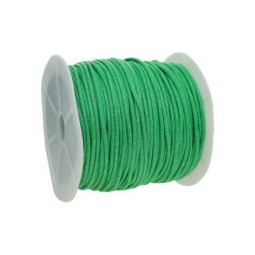 Waxed cord / green / 2.0mm / 72m
