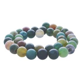 Indian agate / round / 10mm / 38pcs