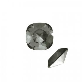 4470 Swarovski Crystal Square Fancy 10mm Black Diamond F Pk1
