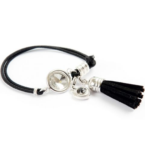 Black Reflection Bracelet