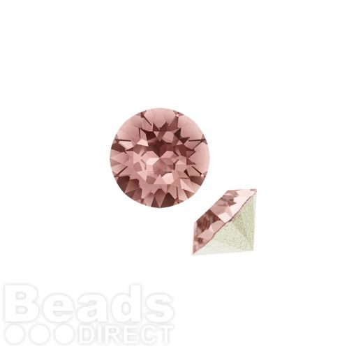 1088 Swarovski Crystal Chaton SS29 6mm Blush Rose F Pk6