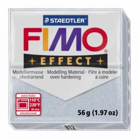 Staedtler Fimo Effect Polymer Clay Glitter Silver 56g (1.97oz)