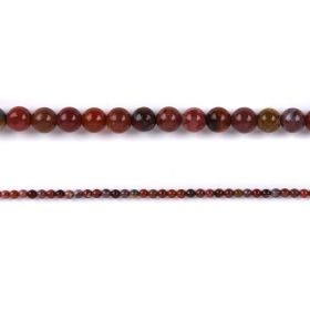 "Portugal Agate Round Semi Precious Beads 6mm 15"" Strand"