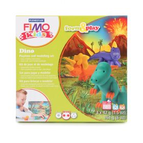 Staedtler Fimo Kids Dino Set Form and Play 4x42g(5.9oz)