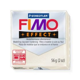 Staedtler Fimo Effect Polymer Clay Metallic Pearl 56g (1.97oz)