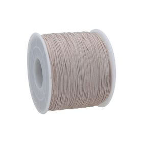 Macrame ™ / Macrame cord / nylon / 0.6mm / light beige / 135m