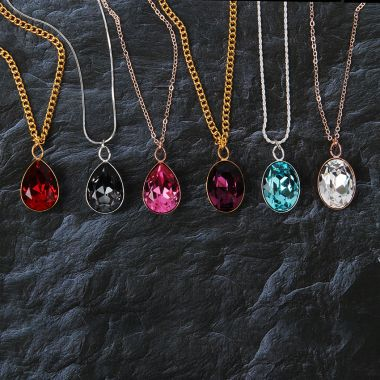 Crystal Treasure Necklaces