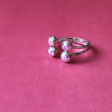 Crystal Sparkle Ring