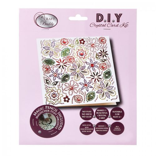 Beads Direct Flower Power Crystal Card Kit