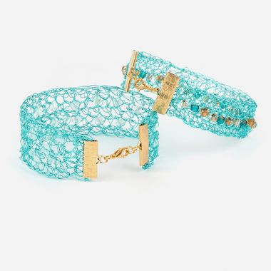 Crystal Crochet Bracelet | Take a Make Break