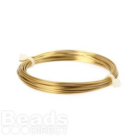Brass Craft Wire 1mm 4metre Coil