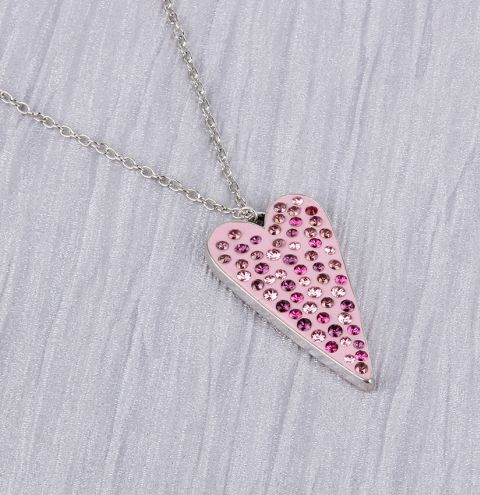 Sparkling Love Necklace | Swarovski Ceralun